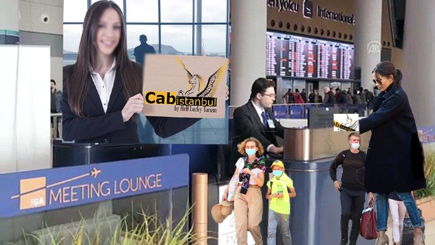 الاستقبال والترحيب على باب الطائرة