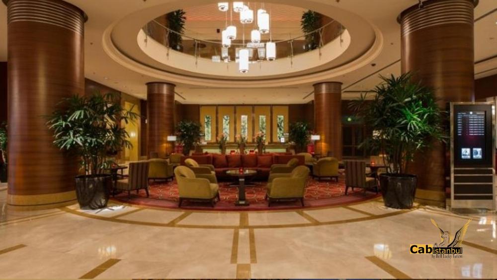 توصيل فندق ماريوت آسيا