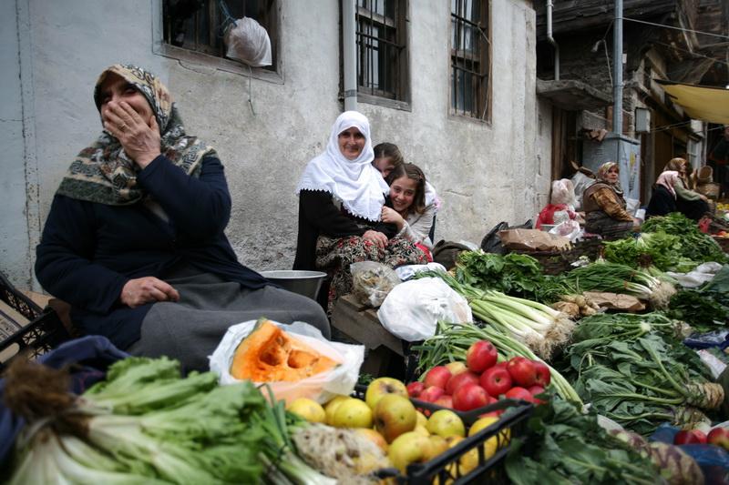 Organic street bazaar