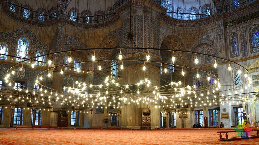 why is it called the blue mosque