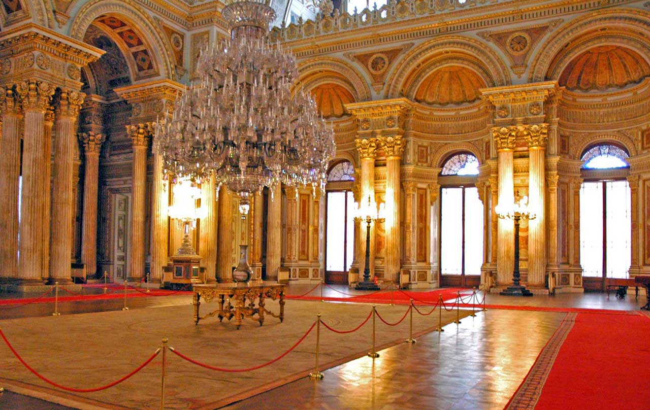 Dolmabahce-- Palace