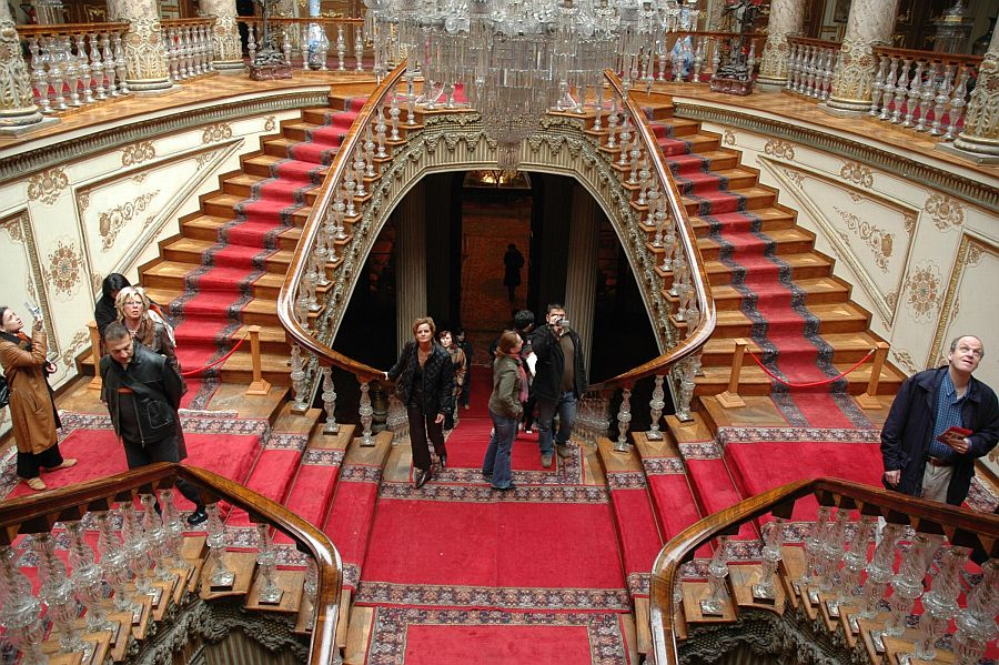 Dolmabahce Palace stairs