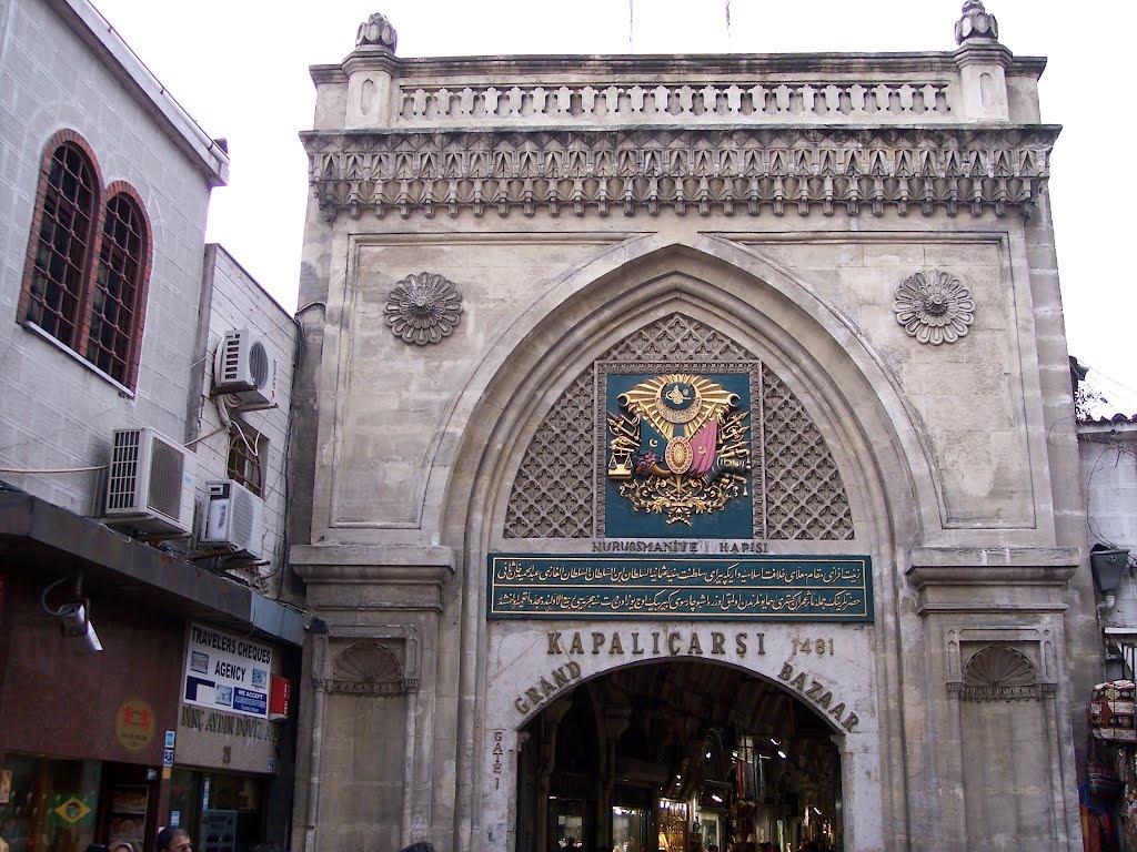 Grand Bazaar Istanbul door