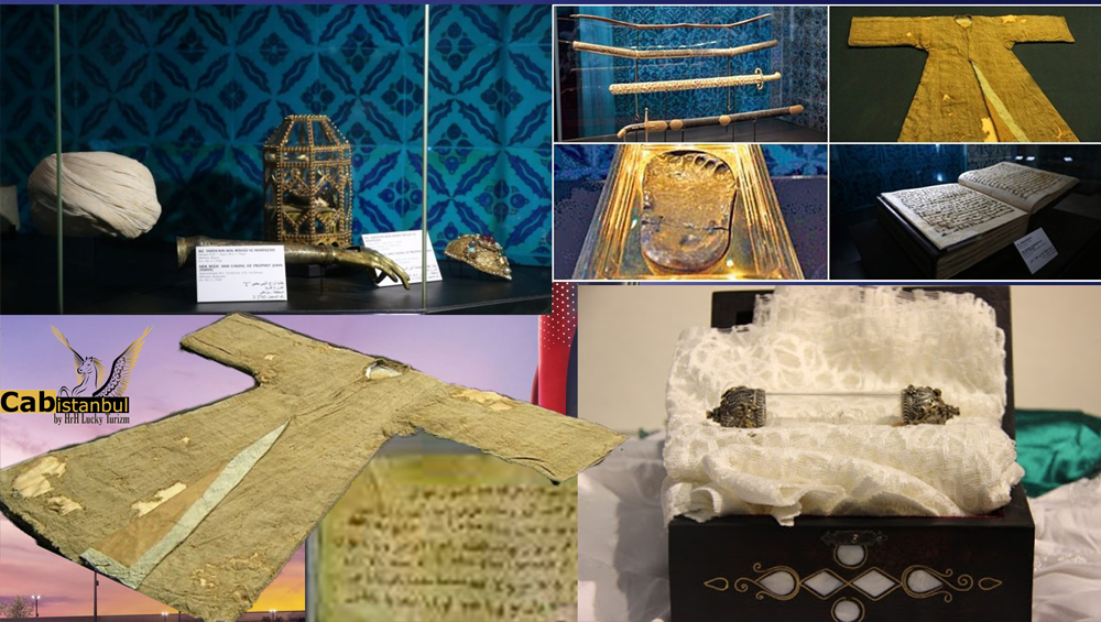 holy relics of Prophet Muhammad
