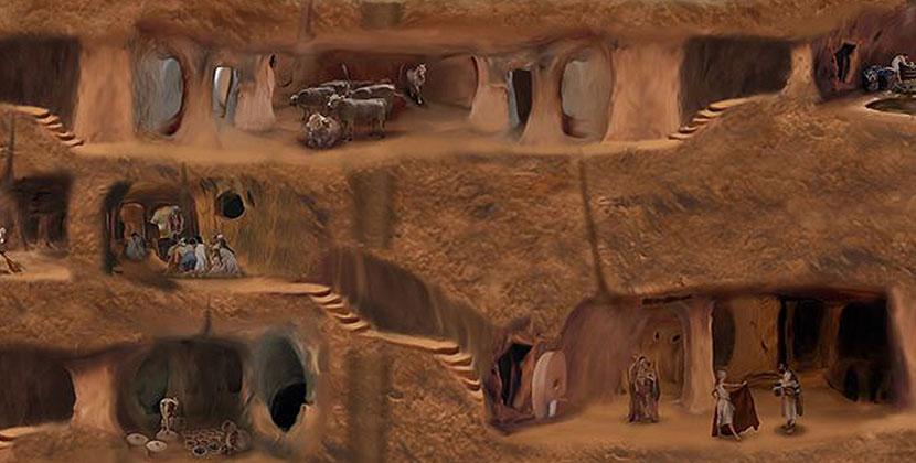 avanos underground city