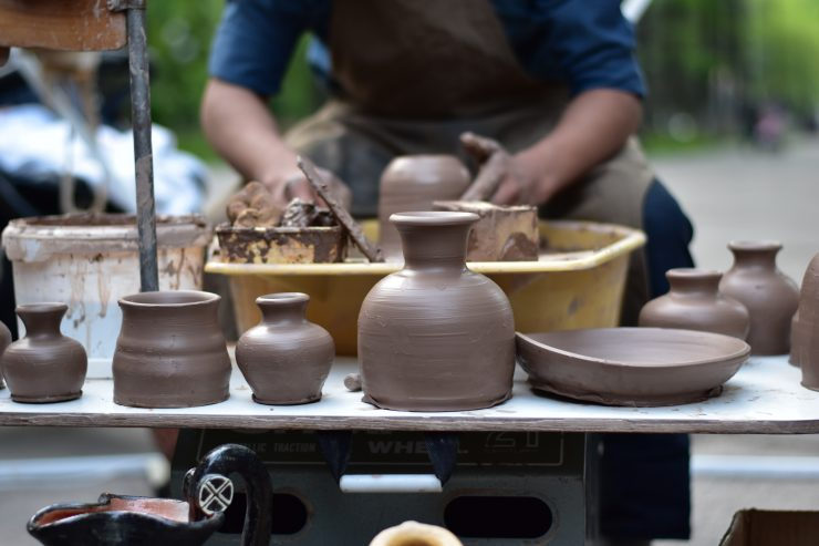 pottery work shop