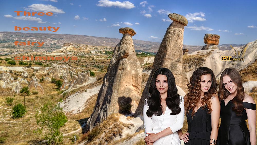 Cappadocia three beauties