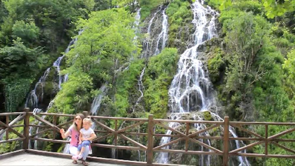kuzalan waterfall