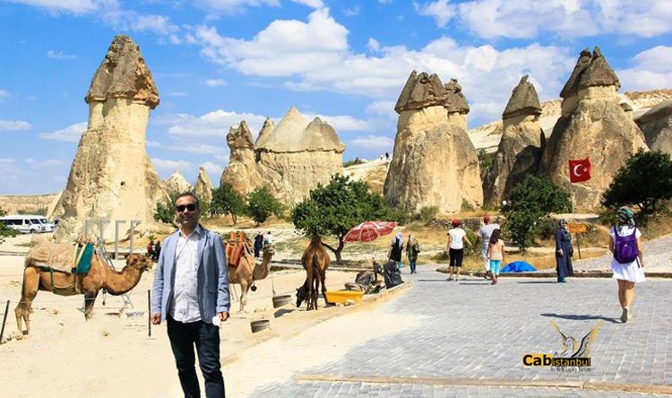 رحلة من اسطنبول الي كابدوكيا-ركوب منطاد-رحلة وادي الرهبان-دليل وادي باشاباجيتركيا تركيا